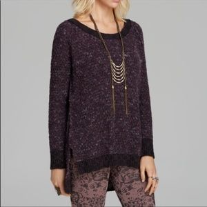 Free People Jeepster Honeycomb Chunky Pullover